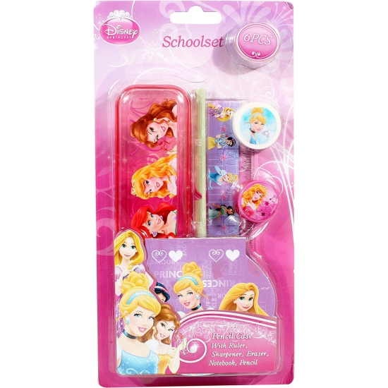 Disney princess school set 6-delig
