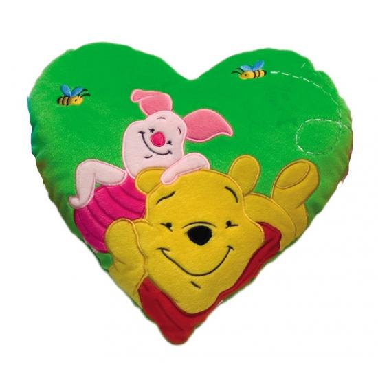 Hartvormig thema kussen van Winnie de Poeh