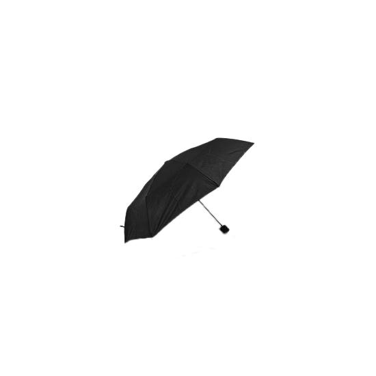 Kleine zwarte paraplu 92 cm