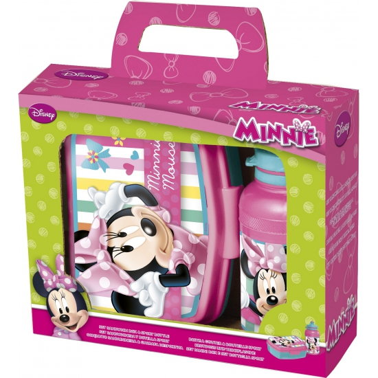 Lunch setje Minnie Mouse