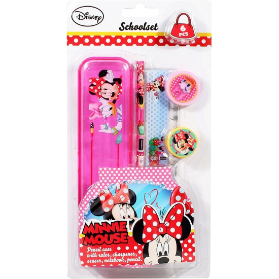 Minnie Mouse school set 6-delig