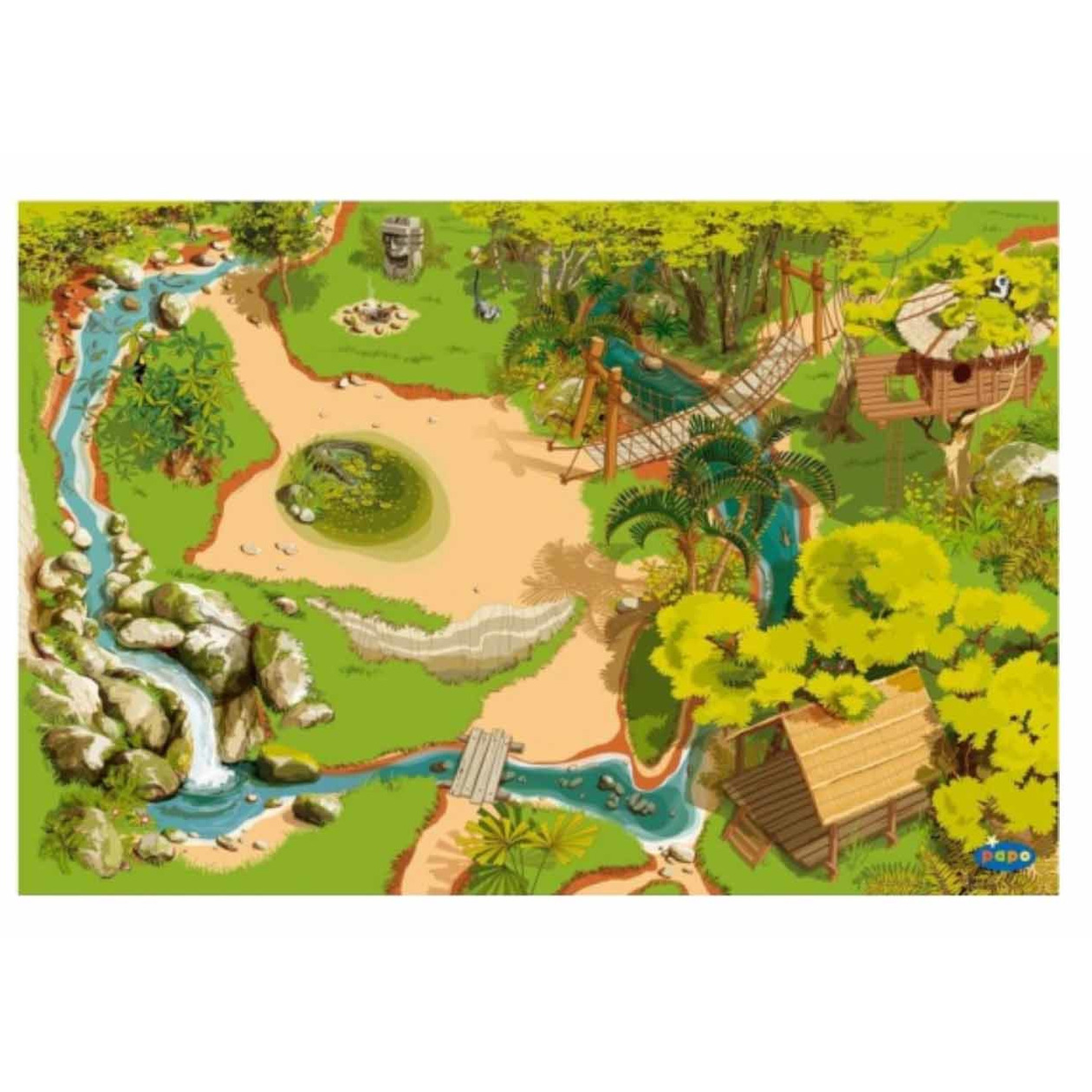 Kinderkamer Jungle: Muurschildering m s jungle room klaar. Muursticker ...