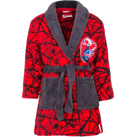 Spiderman badjas rood