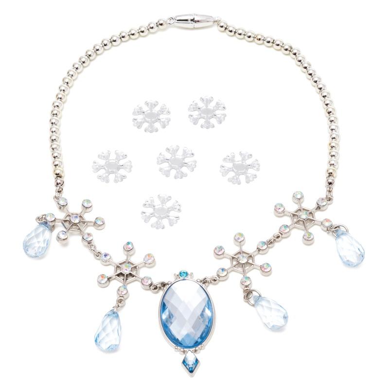 7x Disney Frozen sieraden set haarstickers/ketting voor meisjes