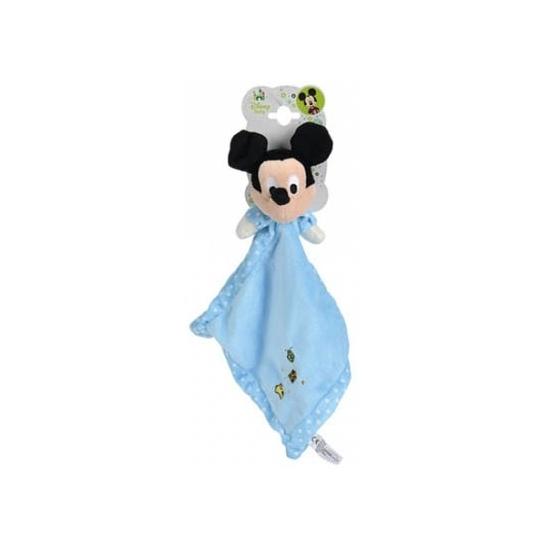 Blauw Mickey Mouse Disney knuffeldoekje