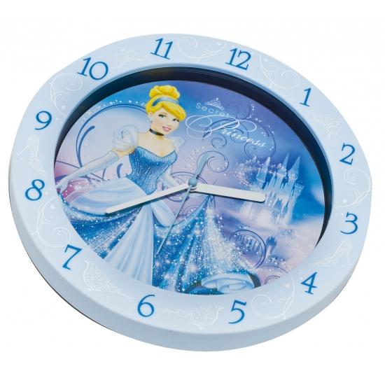 Blauwe Assepoester klok