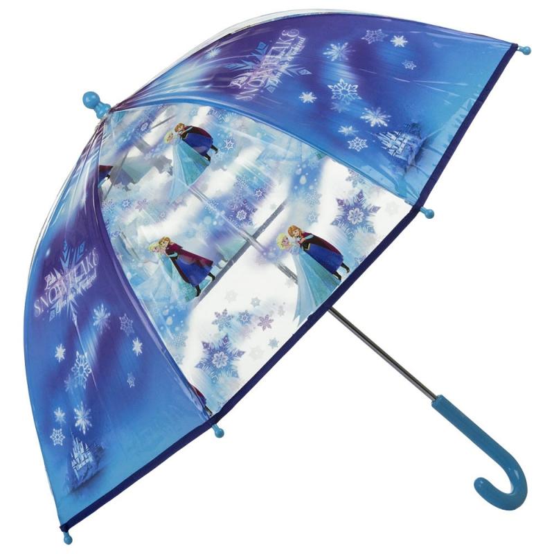 Blauwe Disney Frozen paraplu 70 cm