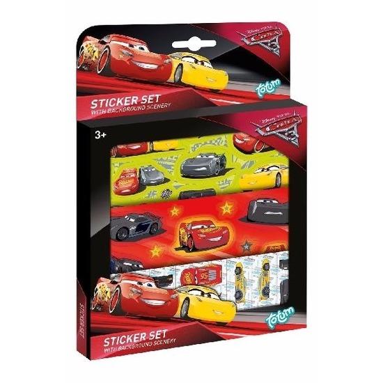 Cars auto stickers voor jongens