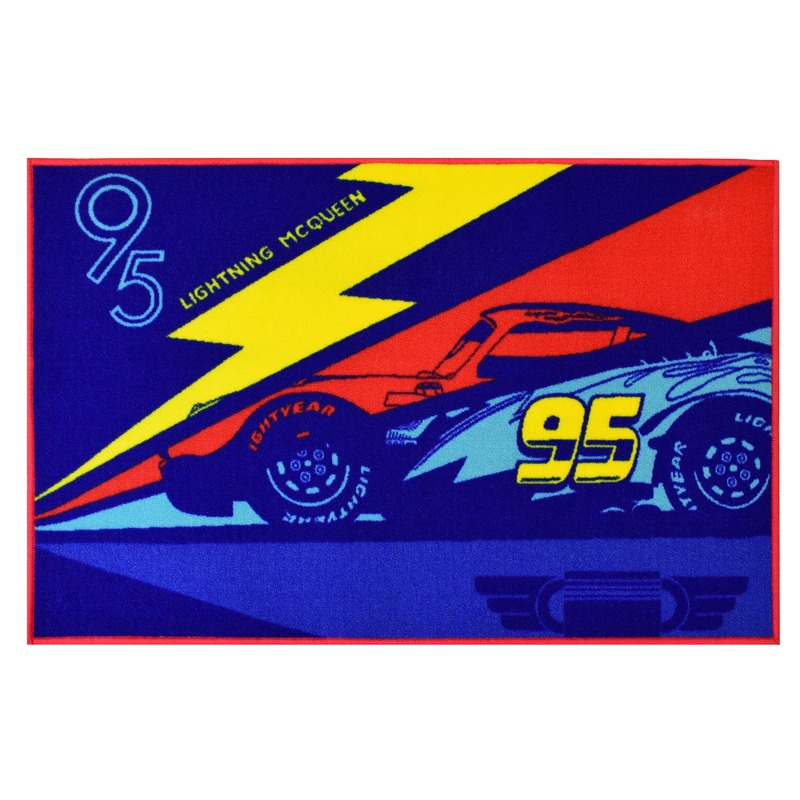 Cars tapijt 120 x 80 cm