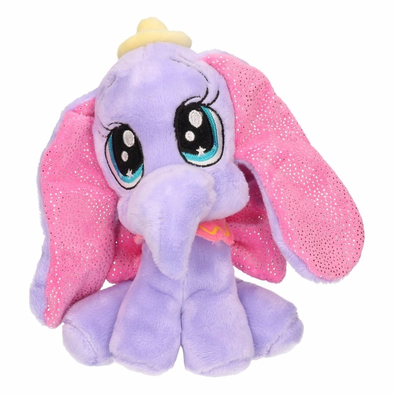 Disney Dombo knuffels 17 cm paarse