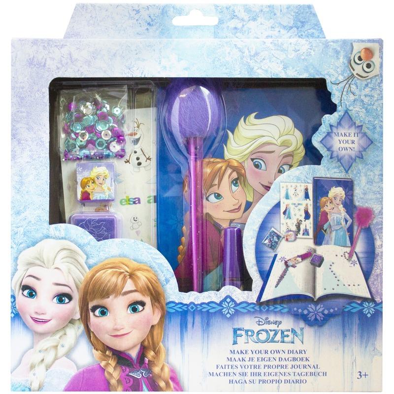 Disney Frozen maak je eigen dagboek set voor meisjes