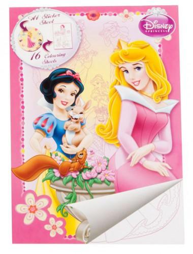 Kleurplaten Prinsessen A4 Formaat.Prinsessen A4 Kleurplaten Boek Disney Artikelen Nl