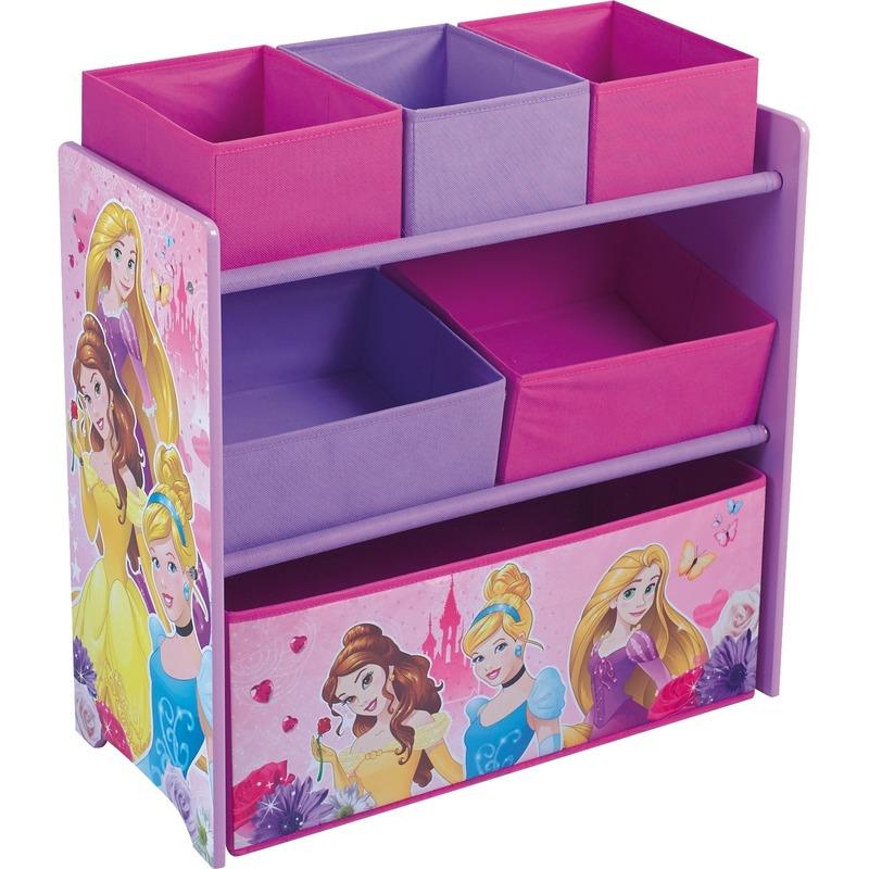 Disney Prinsessen opbergkast 6-vaks