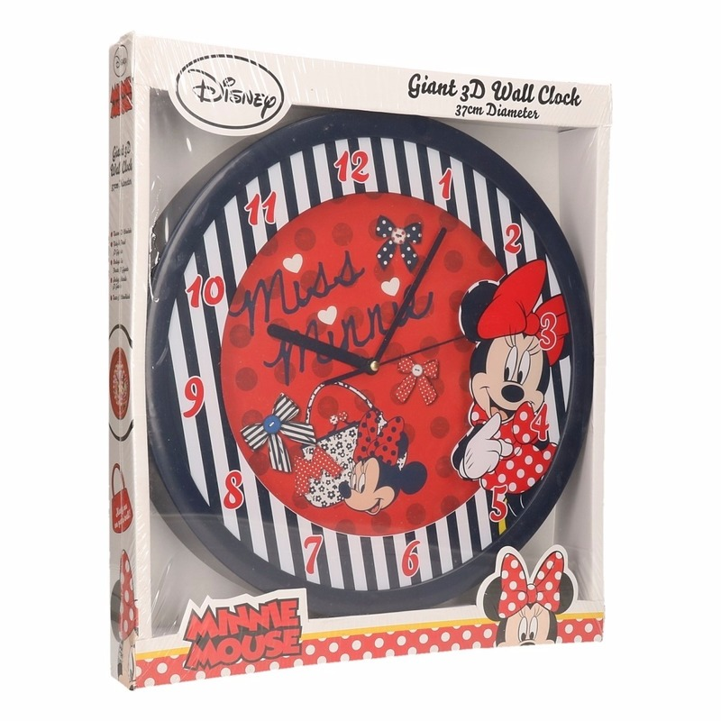 Disney wandklok Minnie Mouse