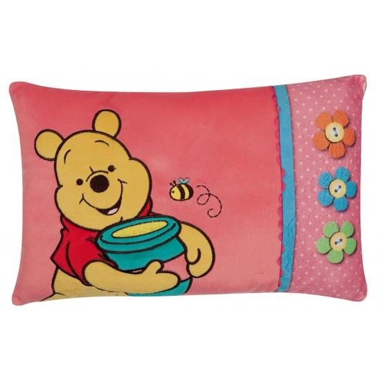 Disney Winnie de Poeh kussen roze