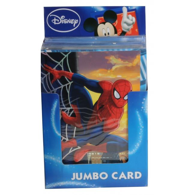 Jumbo verjaardagskaart Spiderman