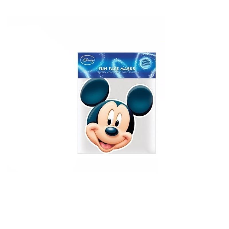 Kartonnen maskertje Mickey Mouse