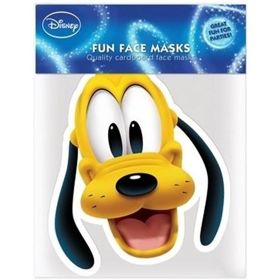 Kartonnen maskertje Pluto