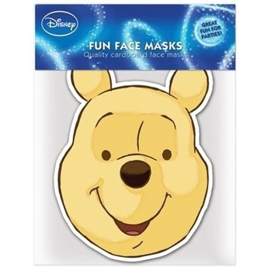 Kartonnen maskertje Winnie
