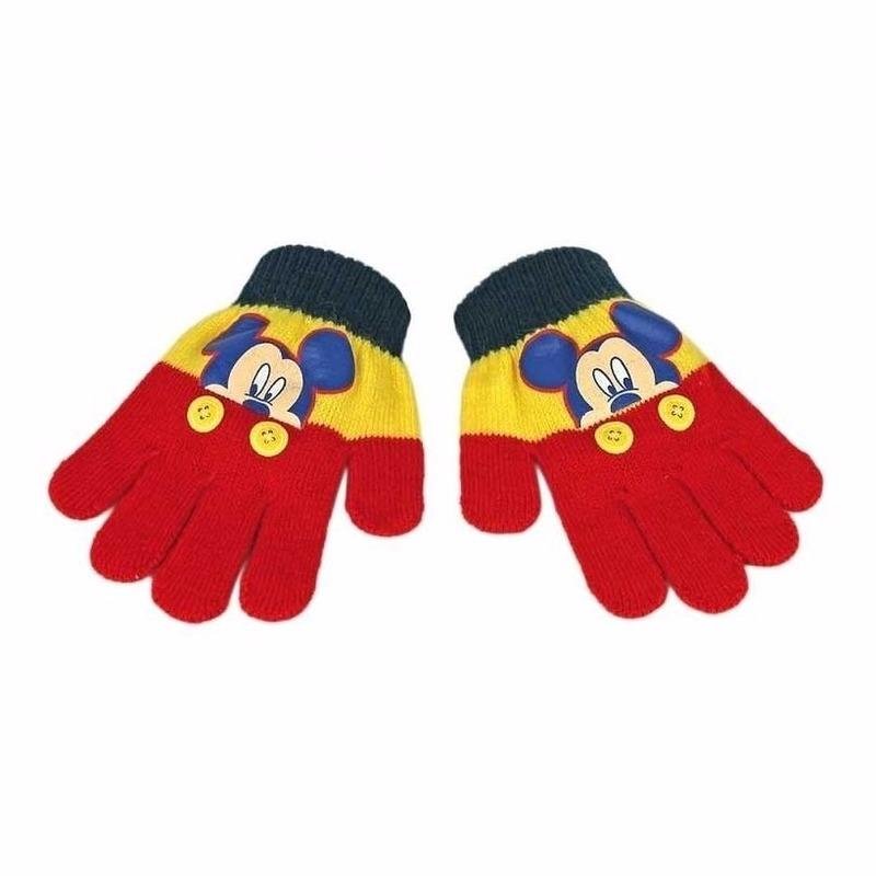 Kinder handschoenen Mickey Mouse