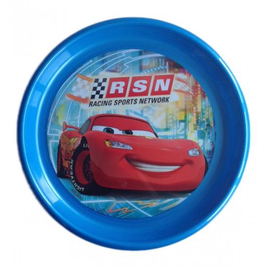 Magnetronbestendig Cars ontbijtbord blauw