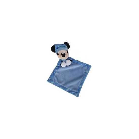 Mickey Mouse Disney knuffeldoekje blauw