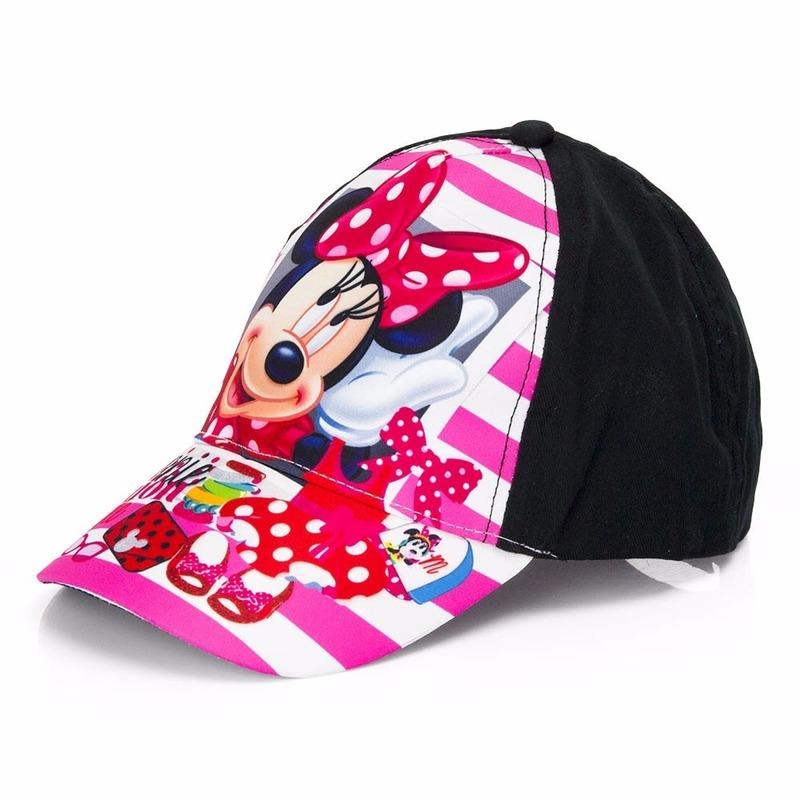 Minnie Mouse pet zwart voor kinderen