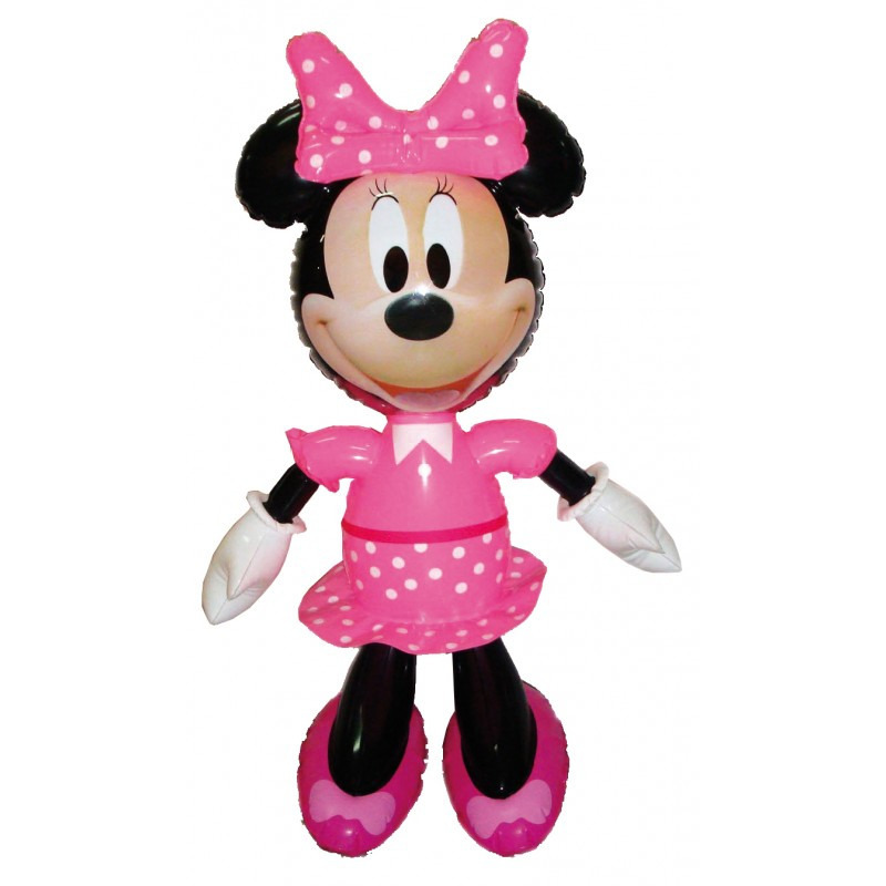 Opblaas Disney Minnie Mouse