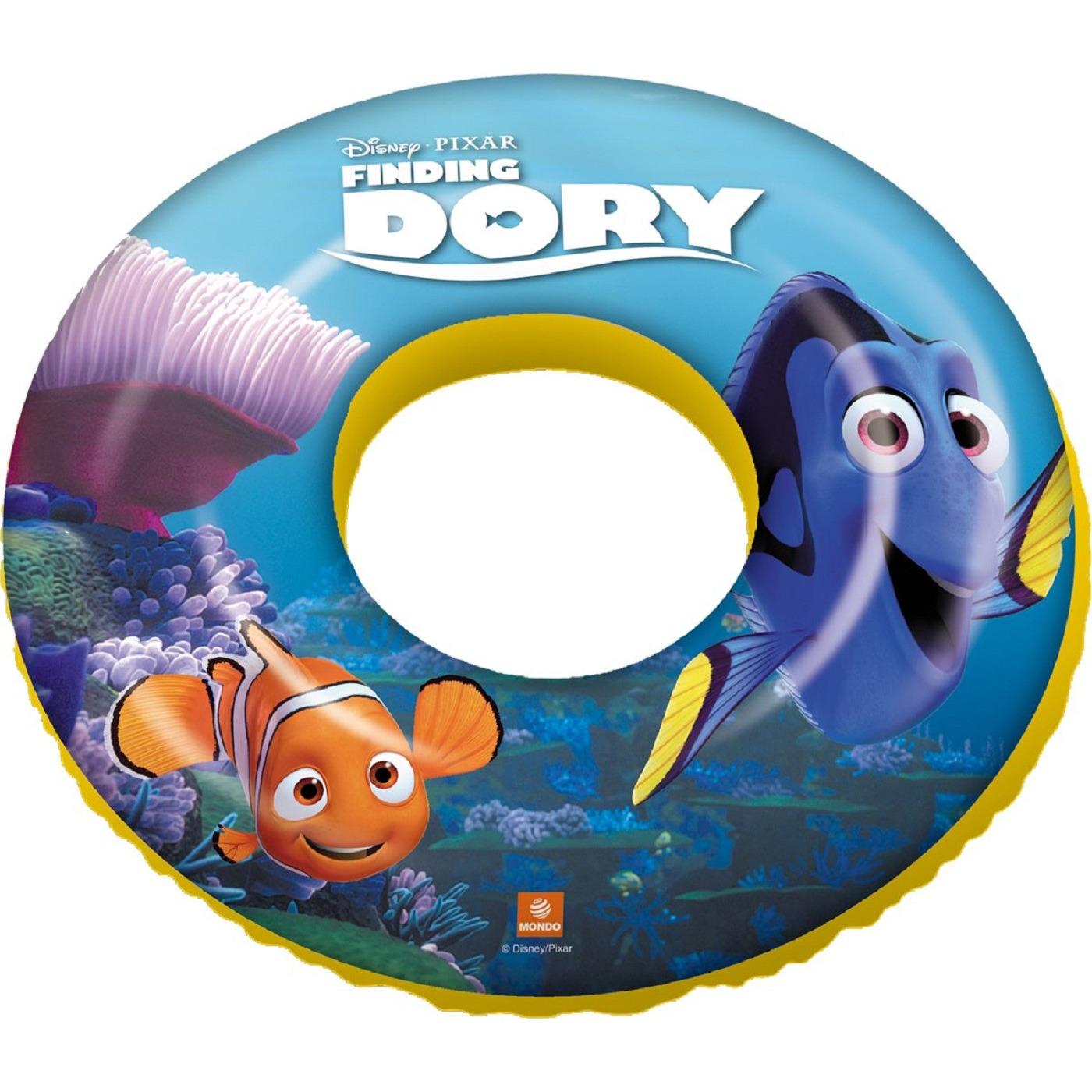 Opblaasbare Disney Finding Dory zwemband/zwemring 50 cm