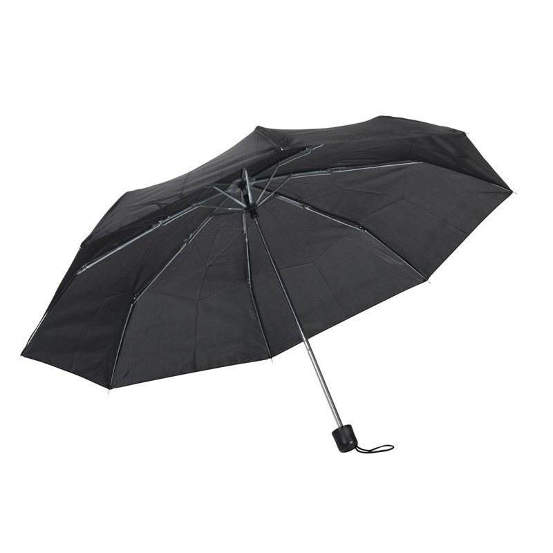 Opvouwbare mini paraplu zwart 96 cm