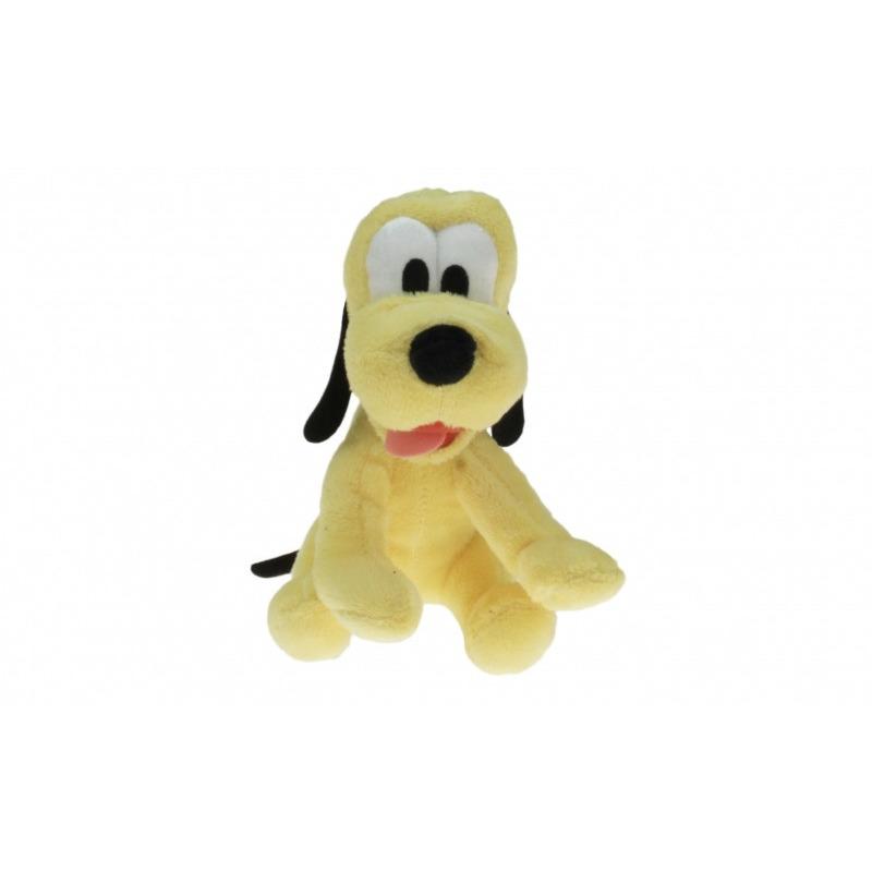 Pluche Disney Pluto knuffel 18 cm speelgoed