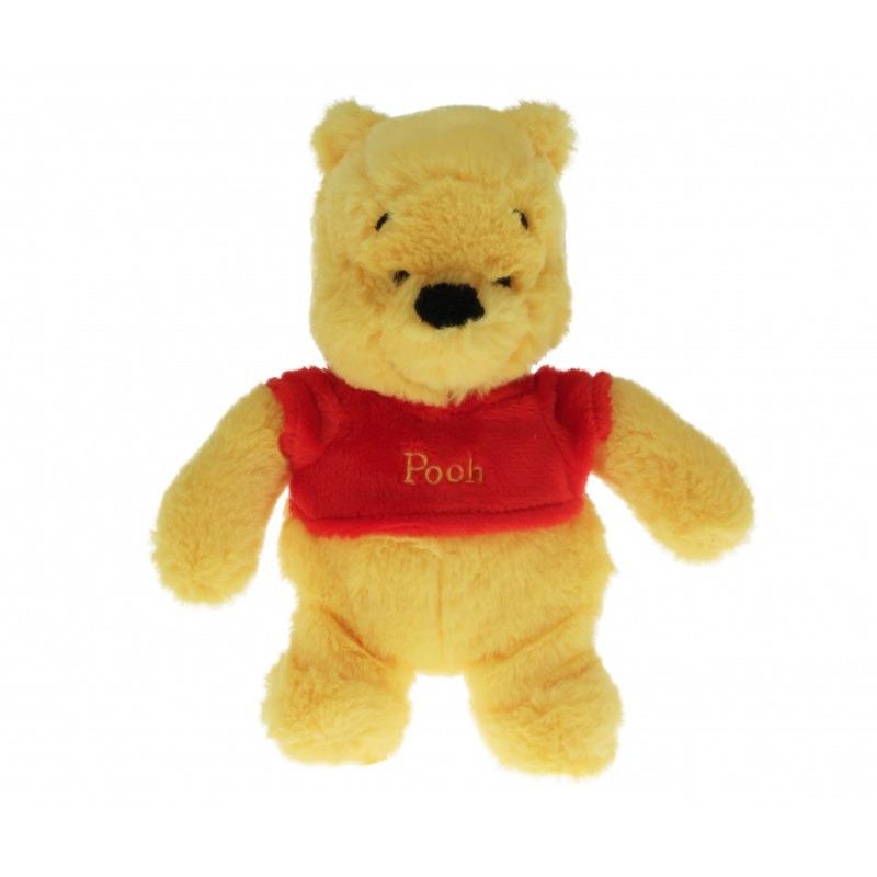 Pluche Disney Winnie de Poeh knuffel 18 cm speelgoed