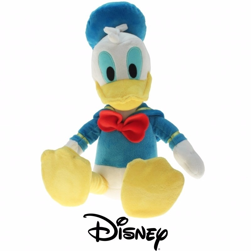 Pluche knuffel Donald Duck 35 cm