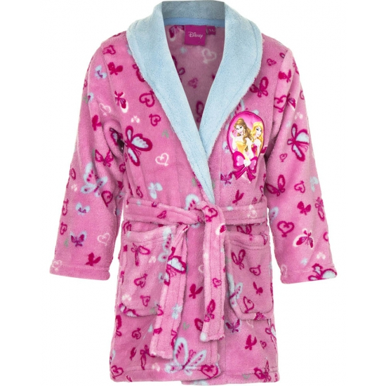 Princess badjas meisjes roze