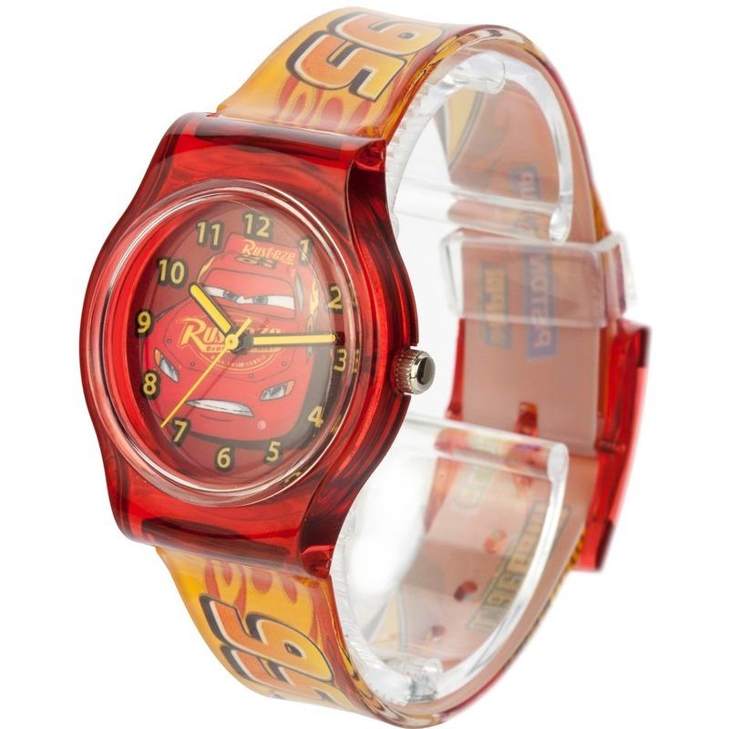 Rood Disney Cars analoog horloge voor jongens