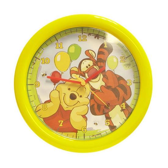 Winnie de Poeh en tijgertje wandklok 30 cm